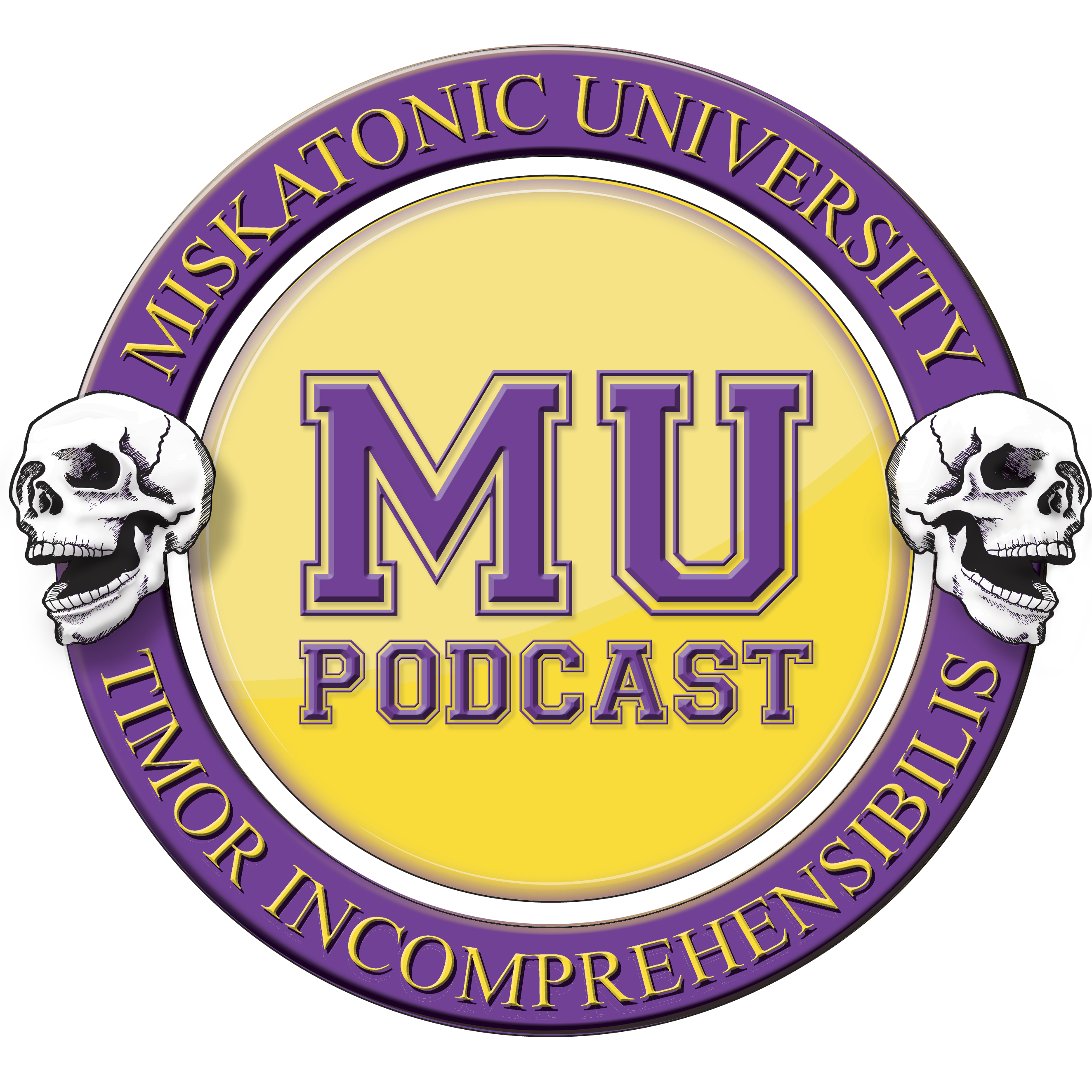 Miskatonic University Podcast | Interviews, actual play, and discussion about Call of Cthulhu and other horror and Lovecraft related role playing games. logo